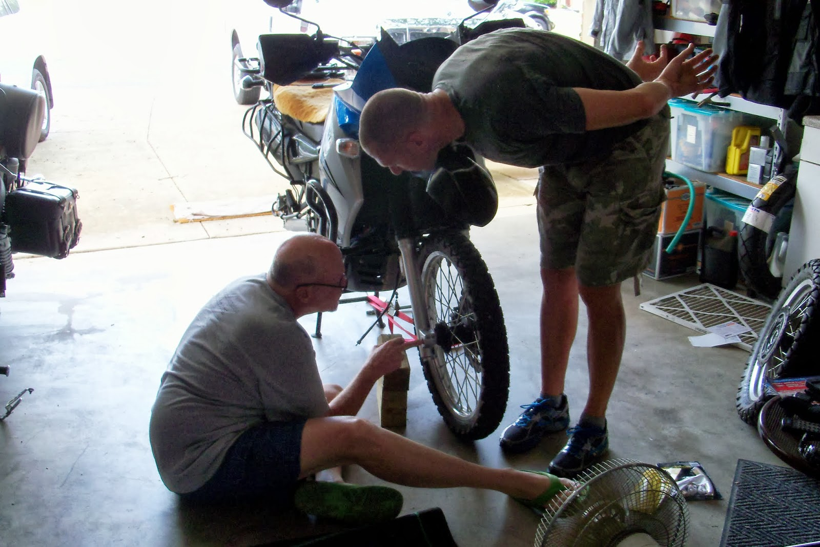 motosiklet lastiği tamiri