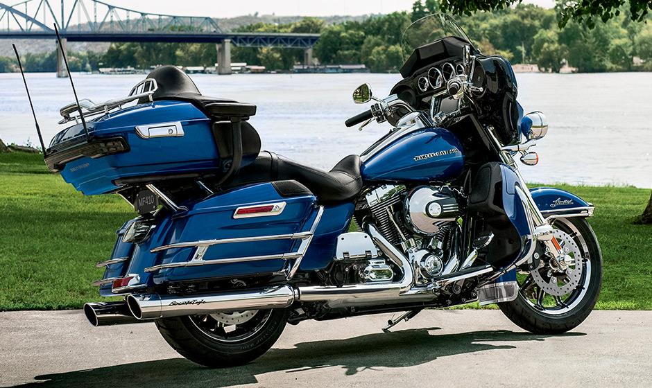 Harley Davidson Road King Classic Windshield Bu
