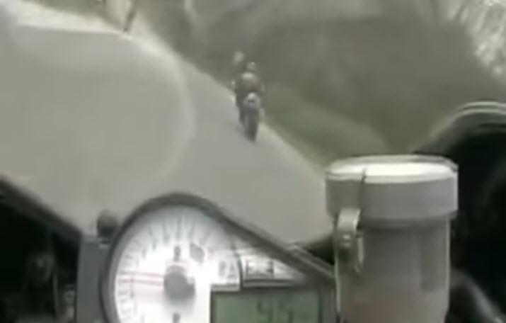 Motor 6 takla atıyor