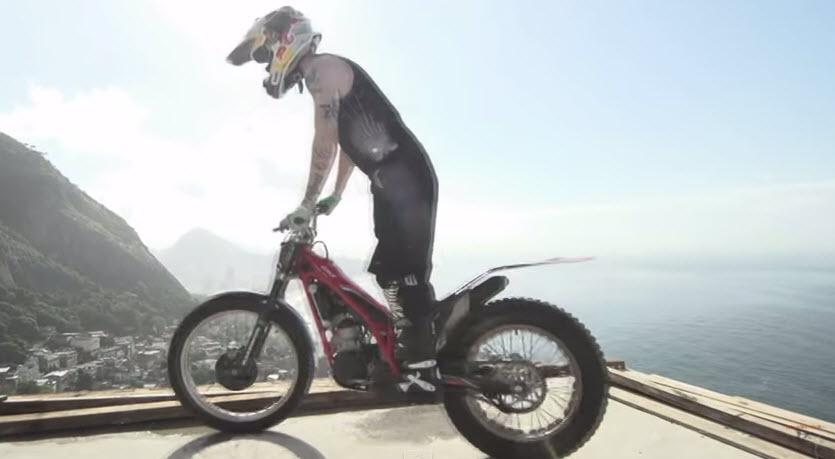 Freestyle urban motorcycle