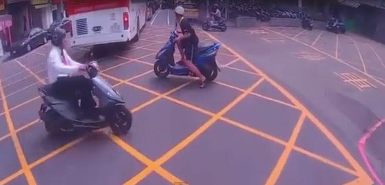 kaza kaçınılmaz oldu