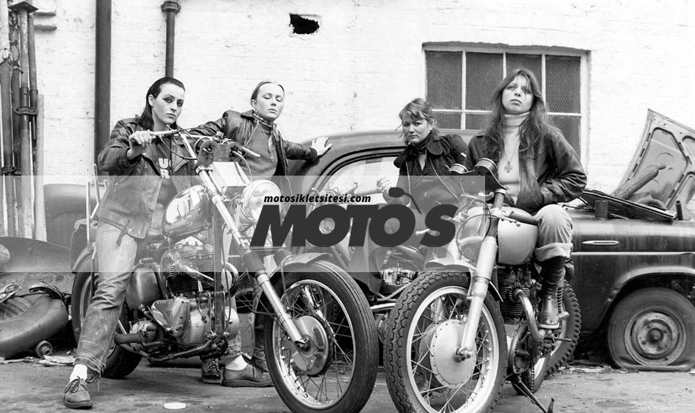 motorcu kadınlar