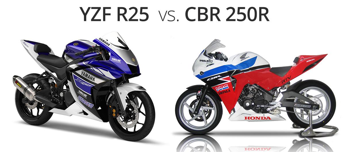 Yamaha R25 mi, CBR 250R mı?