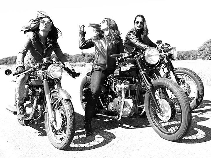 girls on chopper