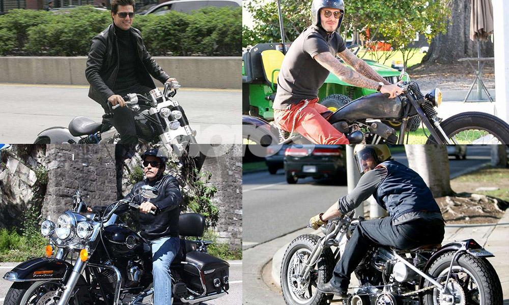 hollywood'un ünlü motosikletçileri