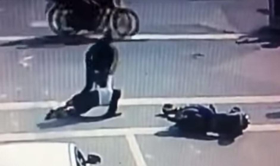 motosiklet kavga