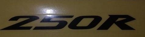 Ninja 250r stickers