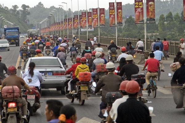trafik koşulları