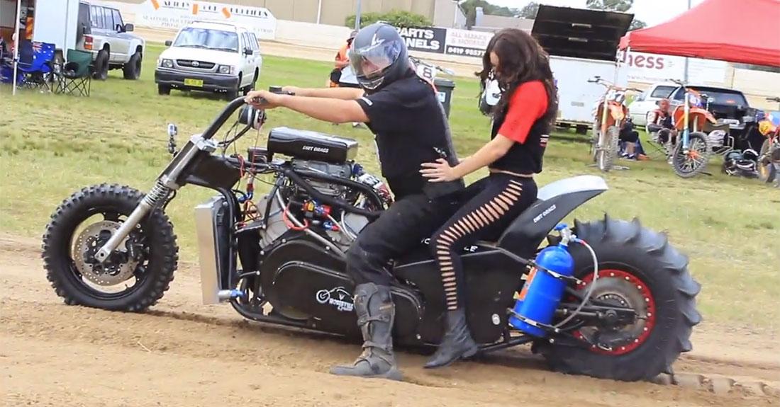 Big-Boy motorcycle