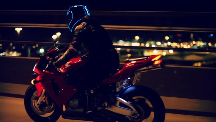 Light Mode Rider