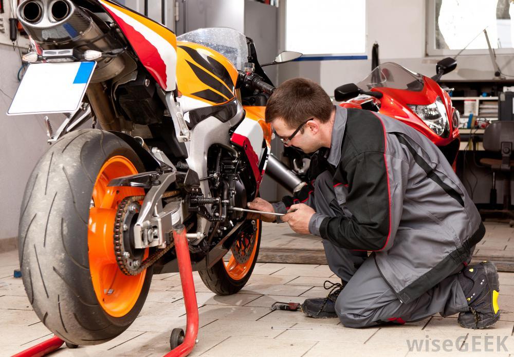 motosiklet tamir