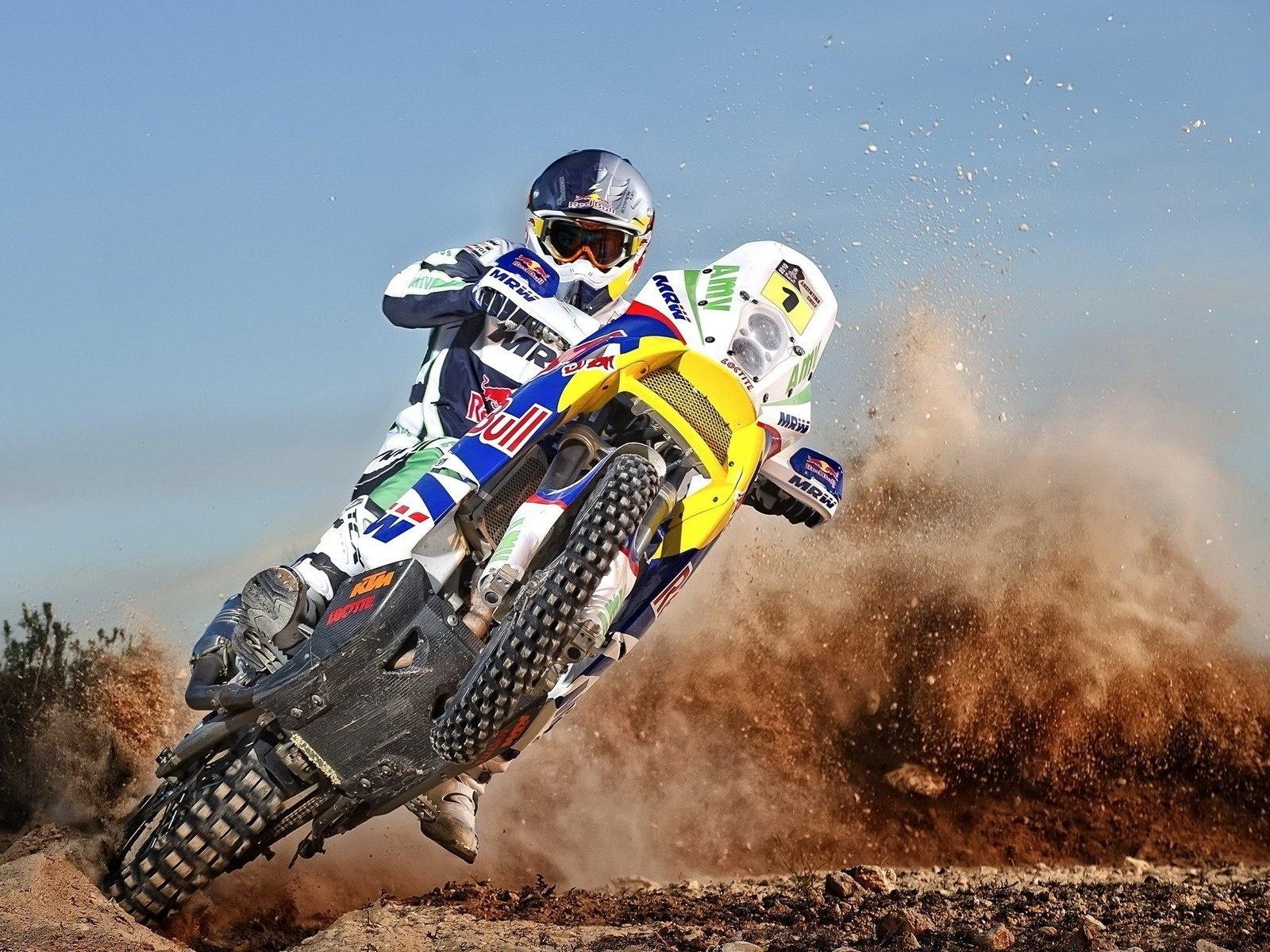 Motorcycle-cross-drif