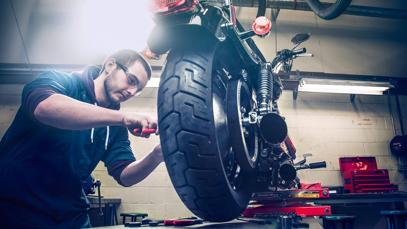 motosiklet yaz bakımı