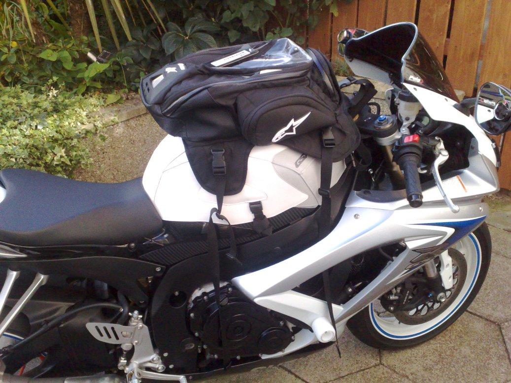 motosiklet depo üstü çanta