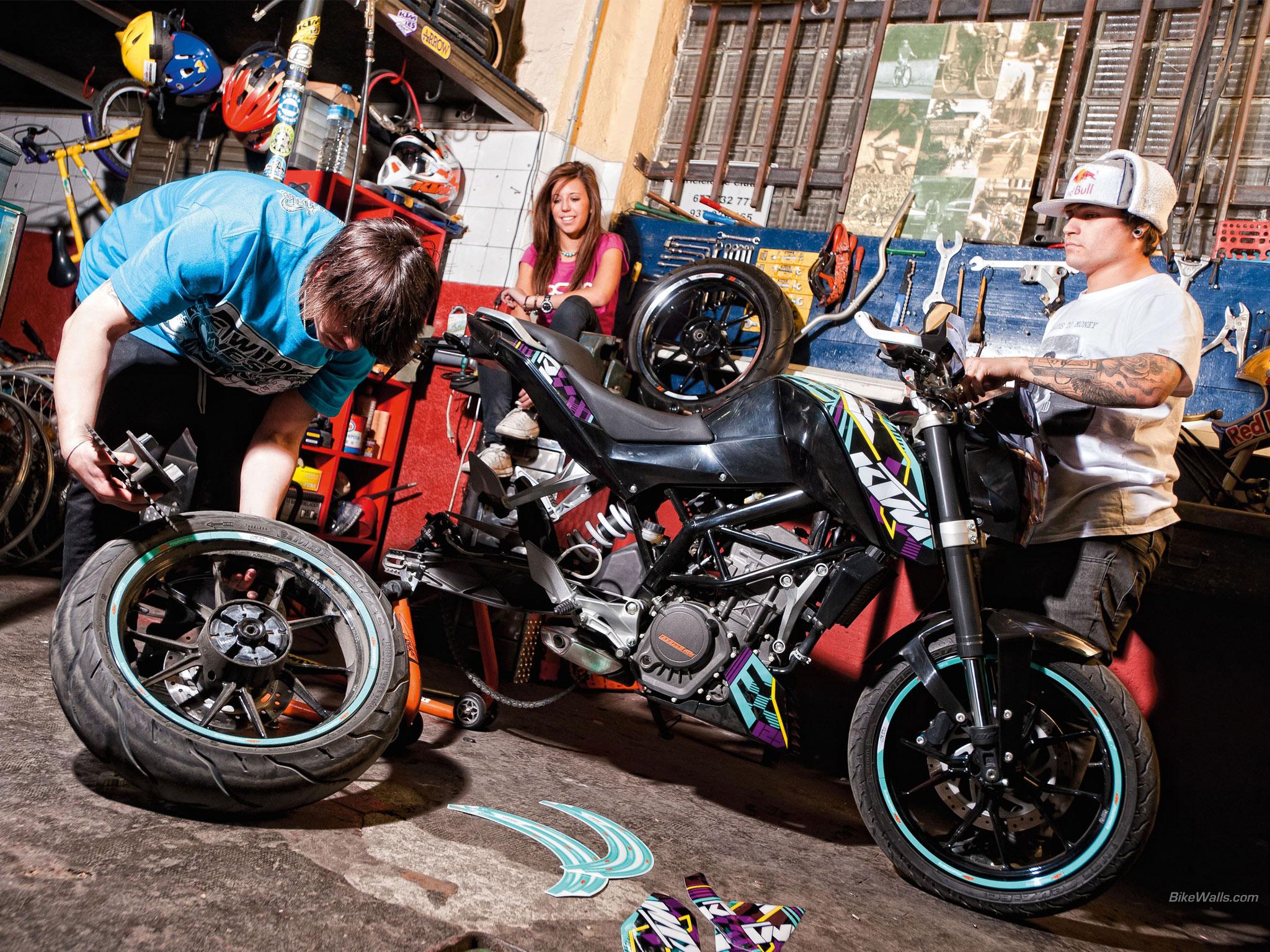 eski model motosiklet