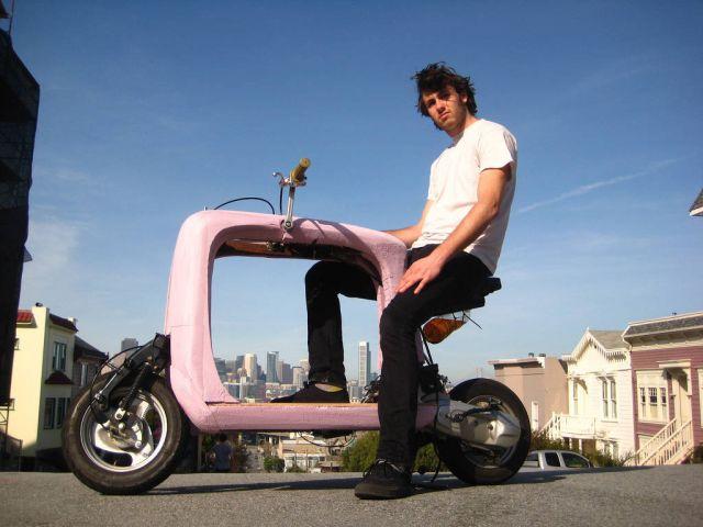 scooter kargo prototip
