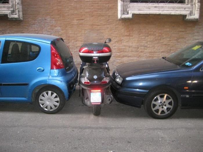 motosiklet park
