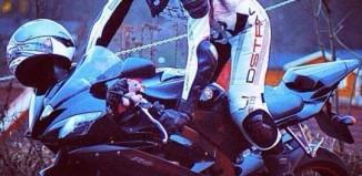 motorbike girl bandit