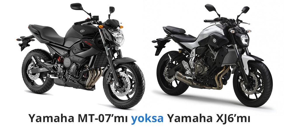 yamaha mt07 39 mi yoksa yamaha xj6 39 m se erdiniz motosiklet sitesi. Black Bedroom Furniture Sets. Home Design Ideas