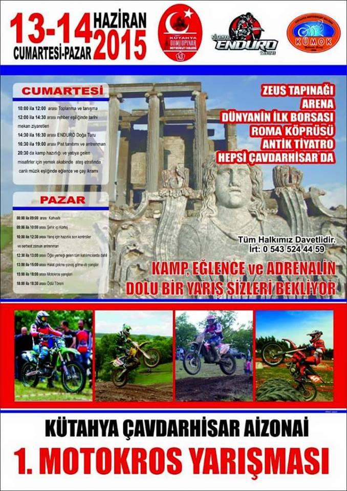 motokros yarışması