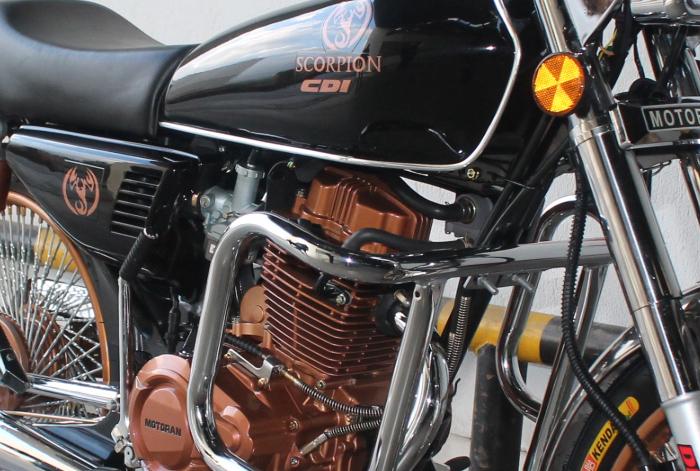 Scorpion motoran