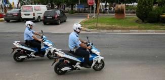 ordu belediyesi elektrikli motorlar yolda