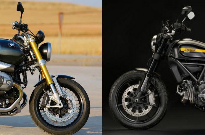 BMW Nine T vs Ducati Scrambler sizce hangisi?