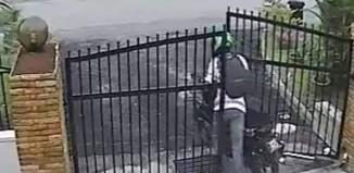 hırsızı kürekle kovaladılar