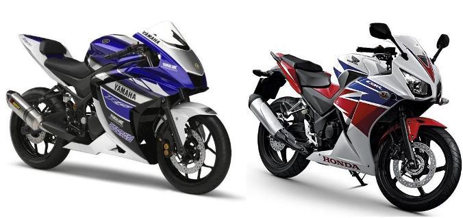 Yamaha R25 vs CBR250R - 200cc, 250cc, 300cc racing tavsiyesi