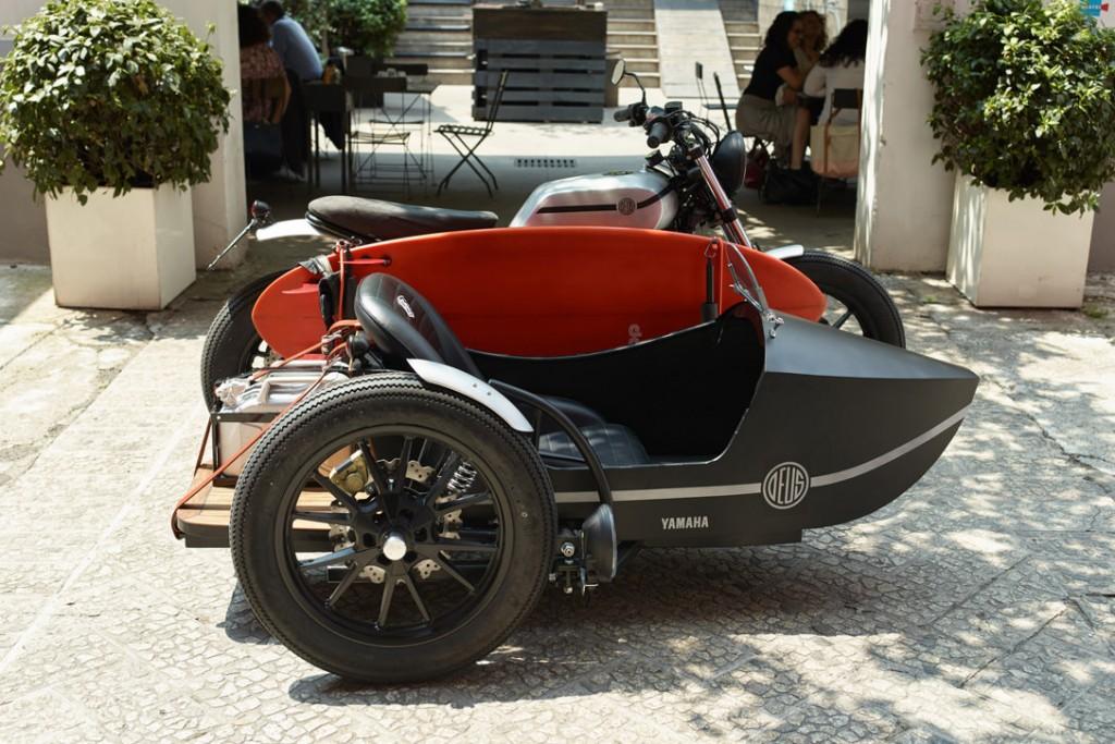 Yamaha-XV950 yan sepet