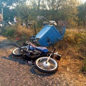datçalı motosikletçi