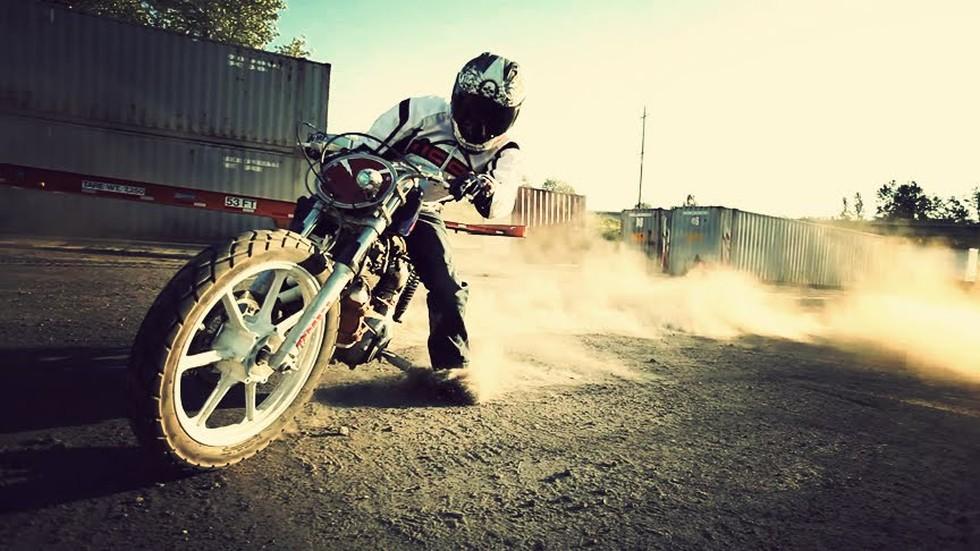 motosiklet drift
