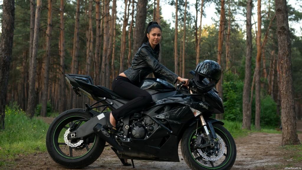 Motocycle girls