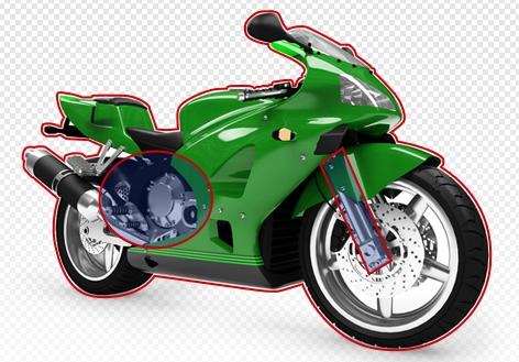 Mitsubishi motorcycle