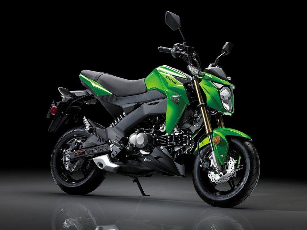 2017 Kawasaki Z125 Pro >> Kawasaki Z125 Pro Vs Honda Grom Motosiklet Sitesi