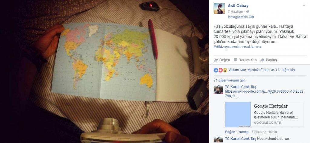 asil özbay afrikaya gidiyor
