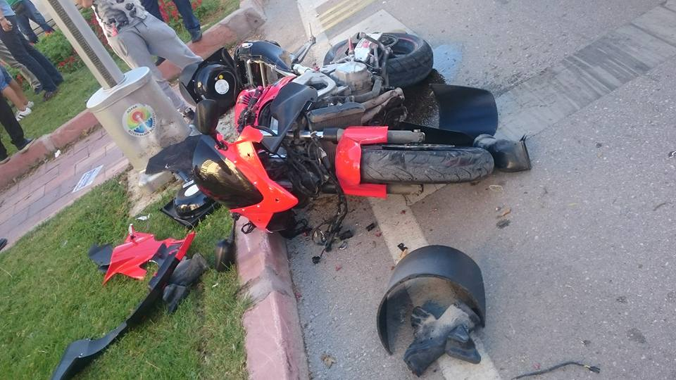 motor kazası