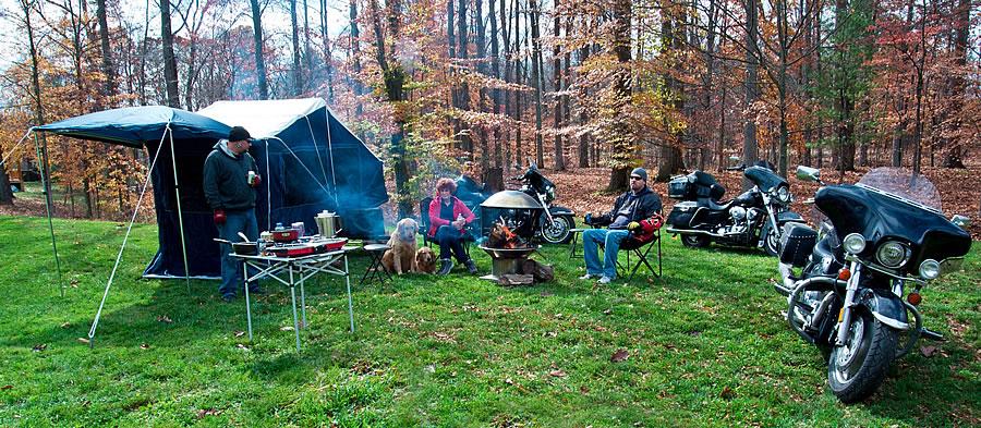 motosiklet kamp - motorcycle camper