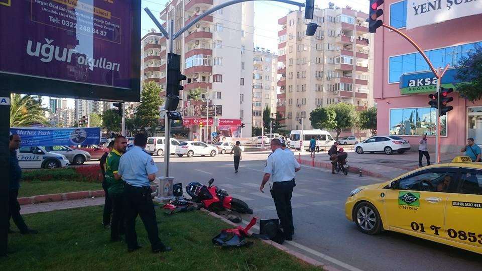 motosiklet kazaları