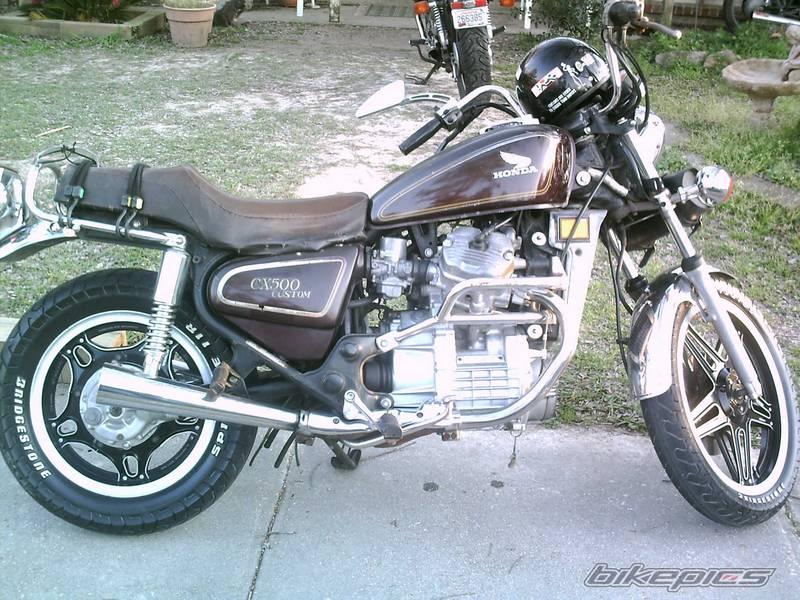 1980 Honda CX500 Custom 8
