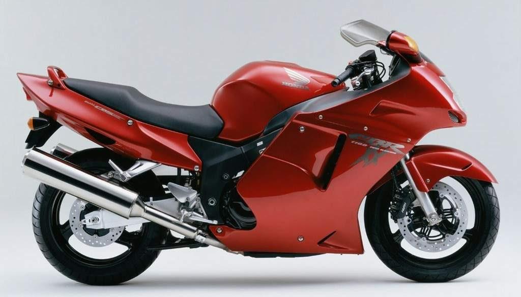 Honda CBR1100XX 01 2