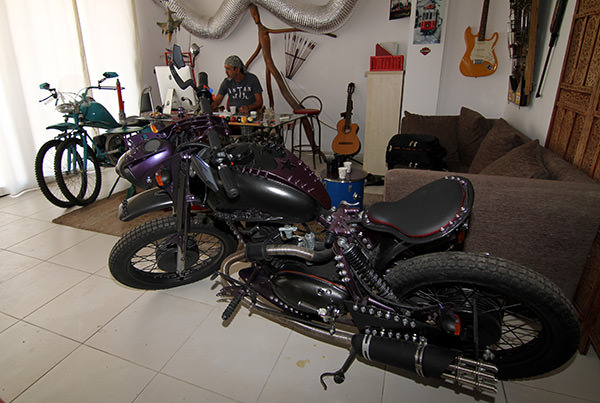 rhan çebi motosiklet