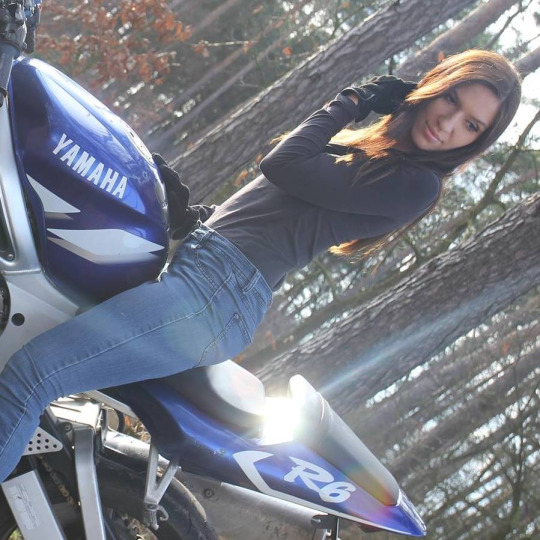 neden biz kadın motorcular