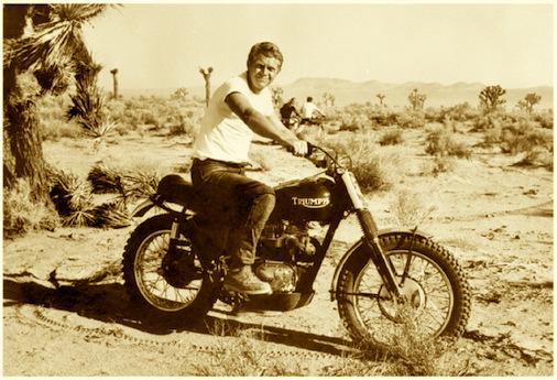 steve-mcqueen-triumph-desert-motorcycle-racing