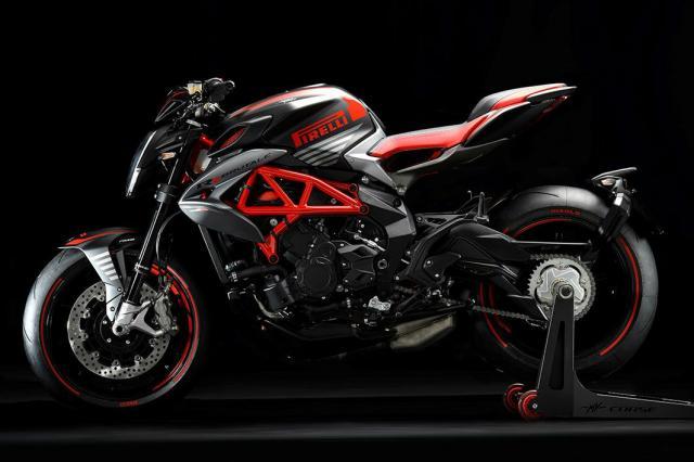 MV Agust Brutale 800 RR Pirelli black red - MV Agusta F3 675 RC ve F3 800 RC yenilendi