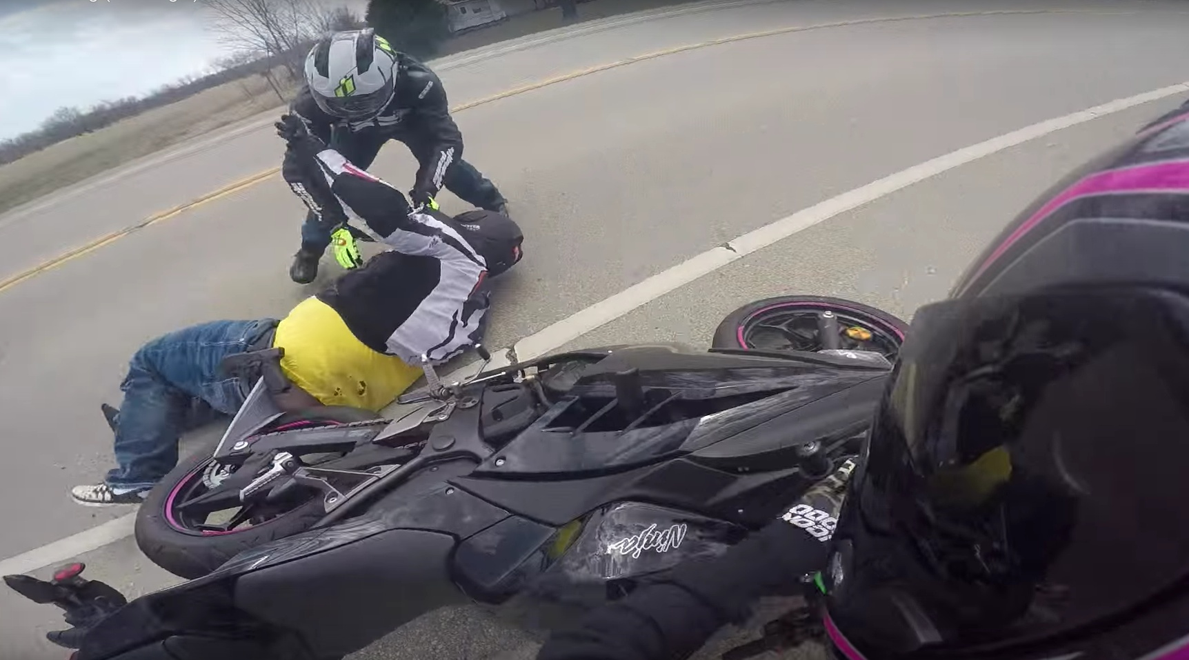 motosiklet anları 18 - Felaketten 1 saniye önce çekilmiş 20 fotoğraf