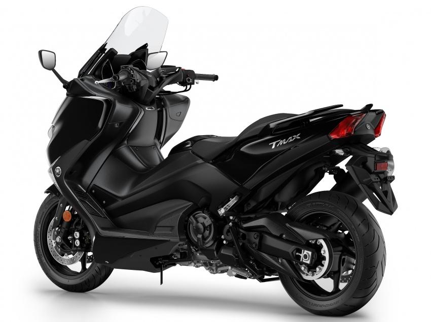 2108 Yamaha TMax 3 850x636 - 2018 Yamaha TMax SX Sports Edition