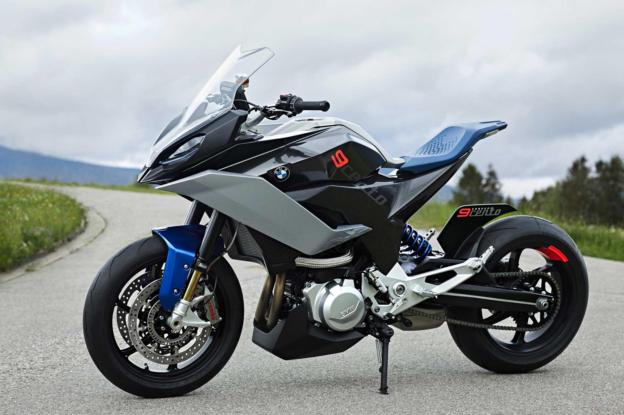 Yeni 2018 Bmw 9cento Konsept çıktı Motosiklet Sitesi
