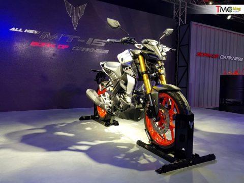 Yamaha MT-15'i piyasaya sürdü
