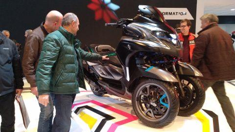 Yamaha Tricity Konsept Motobike Expo İstanbul'da